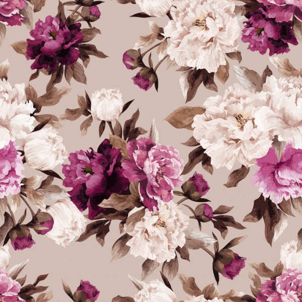 Florale Tapete MOTIV 7