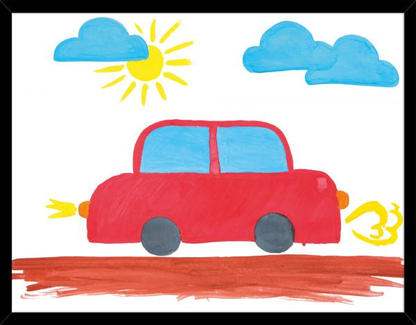 Poster RED CAR