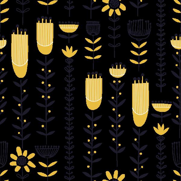 Florale Tapete MOTIV 12