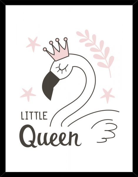 Poster LITTLE QUEEN SWAN