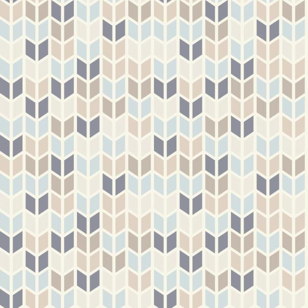 Grafische Tapete WHEAT blue beige Vliestapete