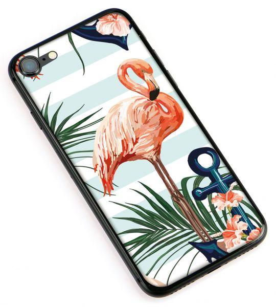 "Handyhülle ""Flamingo Stripes"""