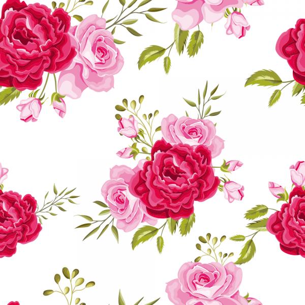 Florale Tapete MOTIV 24