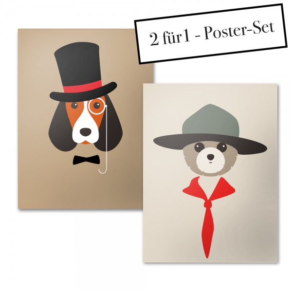 Poster Set DR.DOG + RANGER