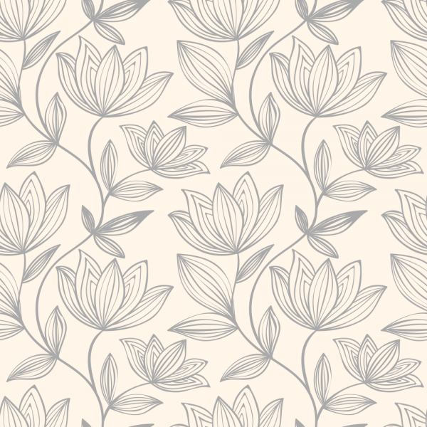 Florale Tapete MOTIV 8