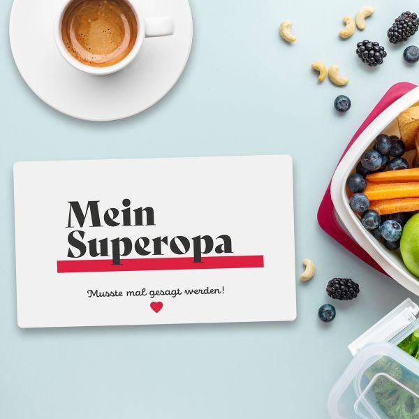 Frühstücksbrett SUPEROPA Vesperbrett Brett