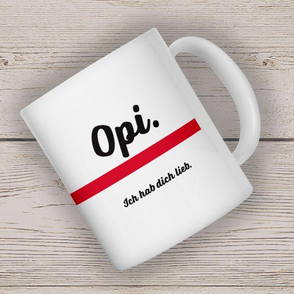 Kaffeebecher OPI Becher