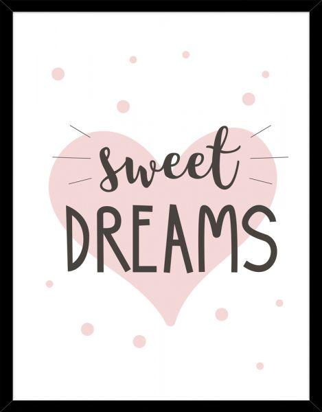 Poster SWEET DREAMS ROSE