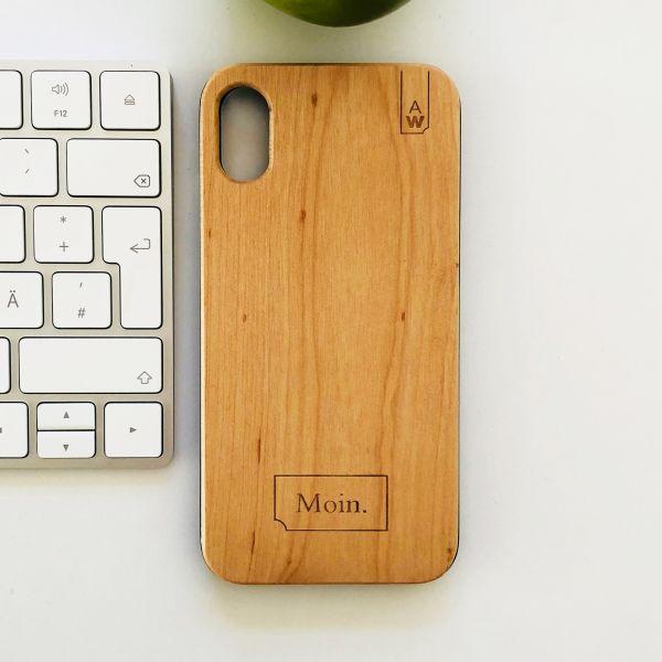 """Holz Handyhülle """"Dein Design"""""""