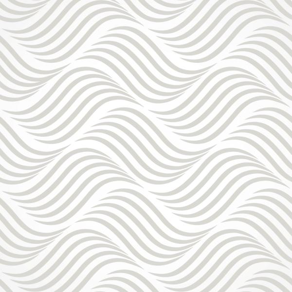 Grafische Tapete DYNAMIC WAVES Grey