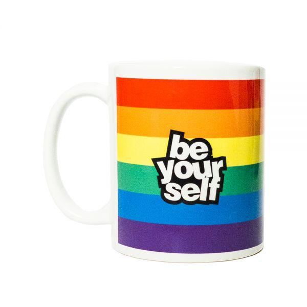 Kaffeebecher RAINBOW BE YOURSELF Becher