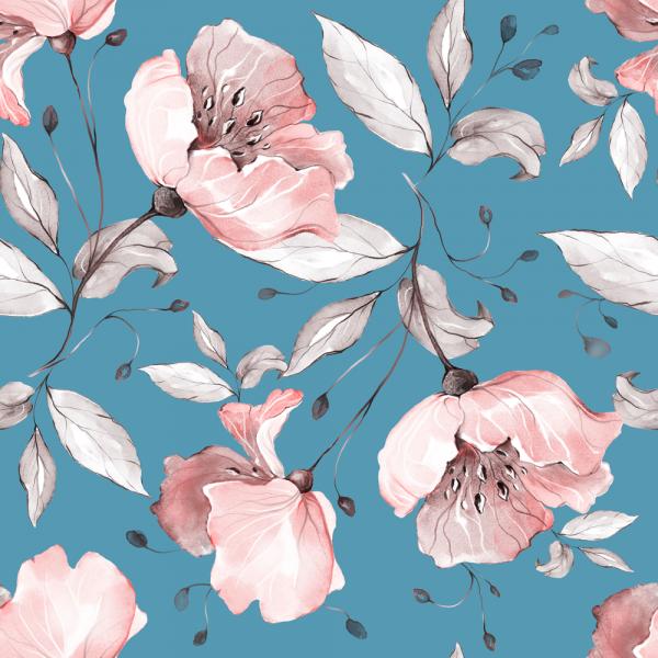 Florale Tapete MOTIV 18