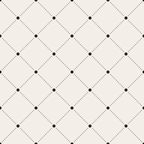 Grafische Tapete GRID Black Dots