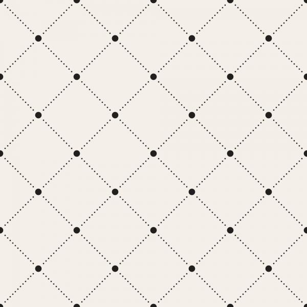 Grafische Tapete GRID Black Dots