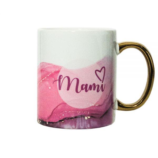 Kaffeebecher AQUARELL Pink MAMI Becher