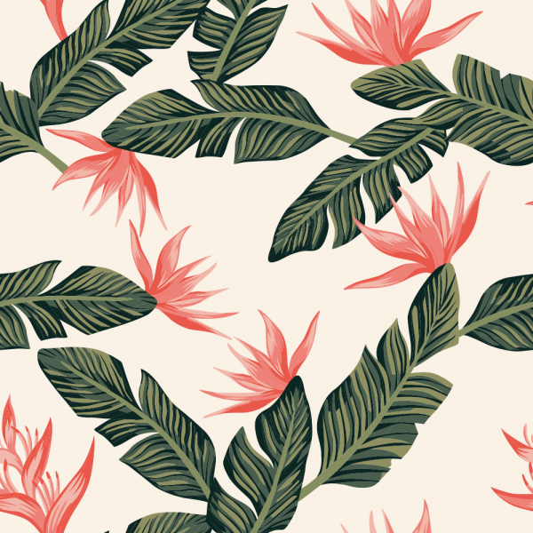Florale Tapete MOTIV 13