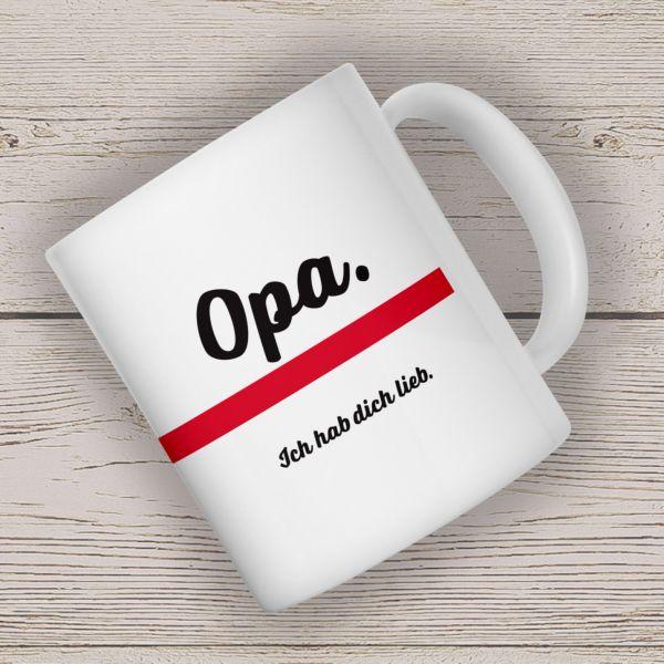 Kaffeebecher OPA Becher