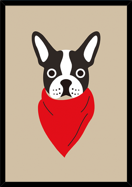 Poster FRENCH DOG