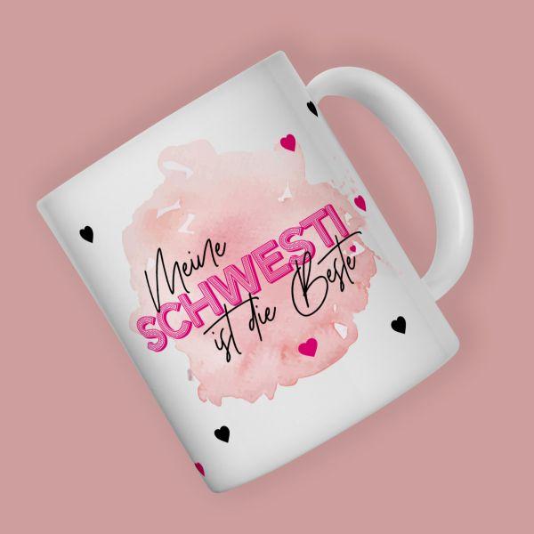 Kaffeebecher BESTE SCHWESTI Becher
