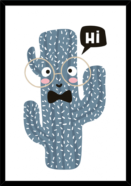 Poster FRIENDLY CACTUS