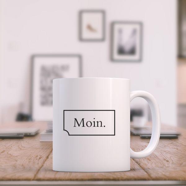 Keramik Becher Statement MOIN
