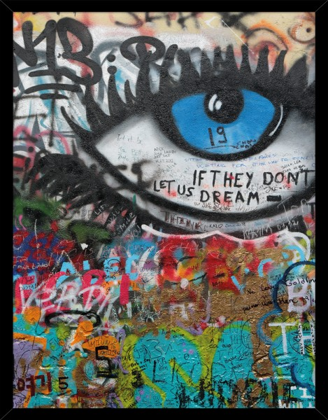 Poster GRAFFITI EYE