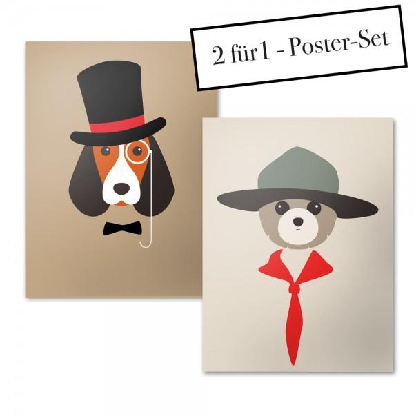 Poster Set DR. DOG + RANGER