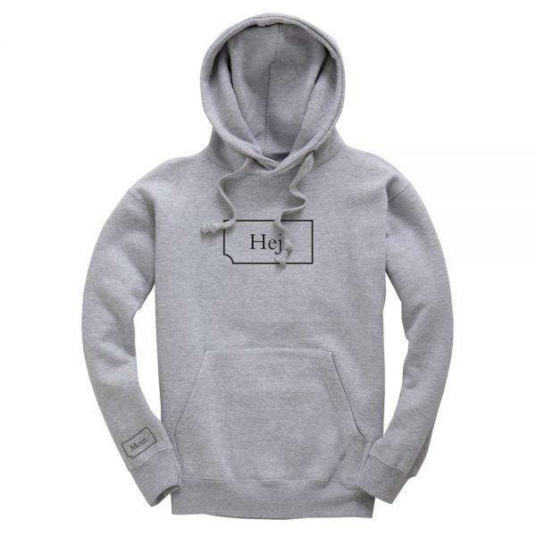 HEJ Hoodie grey
