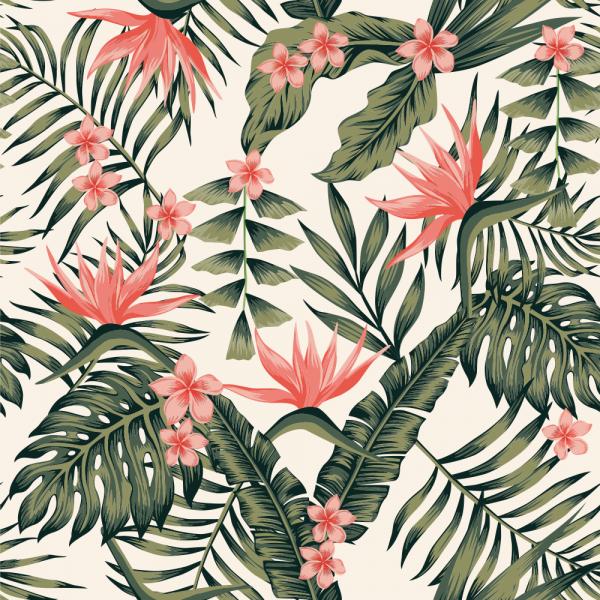 Florale Tapete MOTIV 14